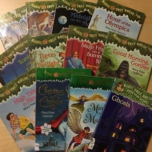 Magic Tree House Kid's Books - set of 12 in lot